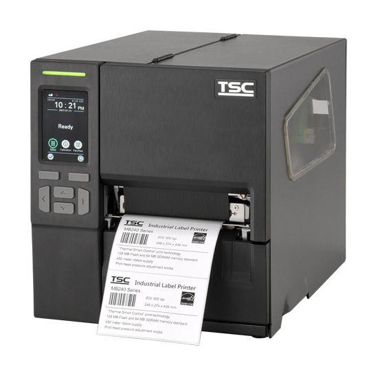 TSC MB240T, 8 Punkte/mm (203dpi), Disp., RTC, EPL, ZPL, ZPLII, DPL, USB, RS232, Ethernet, 99-068A001-1202
