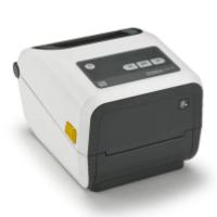 Zebra ZD420c Healthcare, Farbbandkassette, 12 Punkte/mm (300dpi), VS, RTC, EPLII, ZPLII, USB, BT, WLAN, weiß, ZD42H43-C0EW02EZ