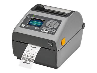 Zebra ZD620t, 12 Punkte/mm (300dpi), VS, RTC, EPLII, ZPLII, USB, RS232, Ethernet, ZD62043-T0EF00EZ