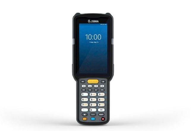 Zebra MC3300x, 2D, SR, SE4770, BT, WLAN, NFC, Func. Num., GMS, Android, MC330L-SA3EG4RW