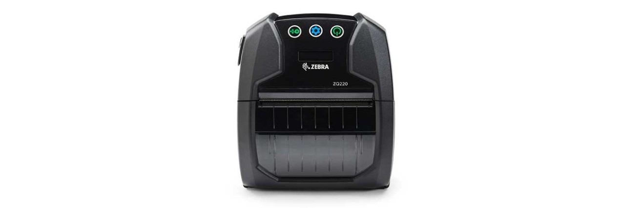 Zebra ZQ220, 8 Punkte/mm (203dpi), linerless, CPCL, USB, schwarz, ZQ22-A0E12KE-00