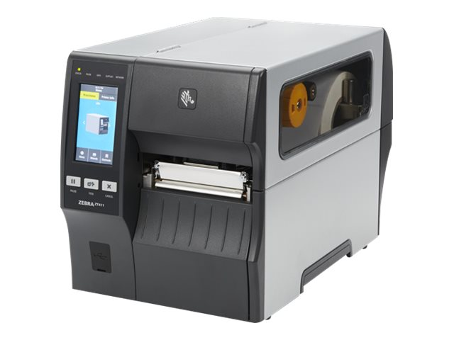 Zebra ZT411, 8 Punkte/mm (203dpi), Disp. (Farbe), RTC, RFID, EPL, ZPL, ZPLII, USB, RS232, BT, Ethernet, ZT41142-T0E00C0Z