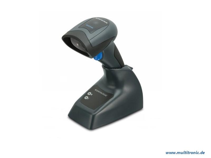 Datalogic QuickScan I QBT2101, BT, 1D, BT, Multi-IF, Kit (USB), schwarz, QBT2101-BK-BTK+
