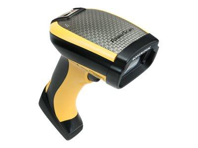 Datalogic PowerScan PBT9501, BT, 2D, DPM, Kit (USB), RB, schwarz, gelb, PBT9501-DPMRBK10EU