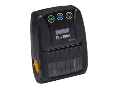 Zebra ZQ210, 8 Punkte/mm (203dpi), CPCL, USB, BT (iOS), schwarz, ZQ21-A0E01KE-00
