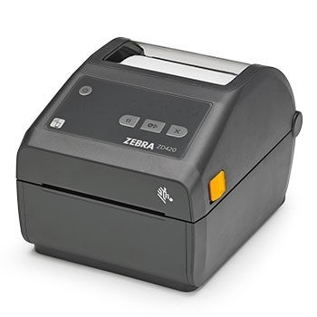 Zebra ZD420d Healthcare, 8 Punkte/mm (203dpi), RTC, EPLII, ZPLII, USB, BT, WLAN, weiß, ZD42H42-D0EW02EZ