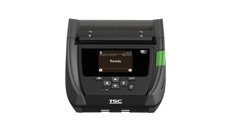 TSC Alpha-40L USB-C BT WLAN NFC 8 Punkte/mm 203dpi linerless RTC - Etiketten-/Labeldrucker - Etiketten-/Labeldrucker