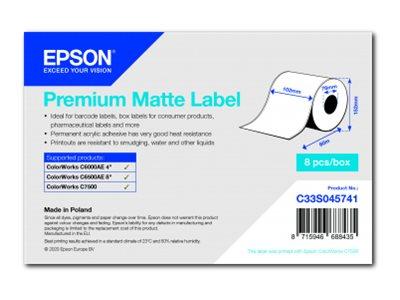 Epson Etikettenrolle, Normalpapier, 102mm, C33S045741