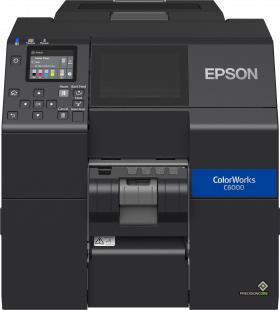 Epson ColorWorks CW-C6000Pe, Peeler, Disp., USB, Ethernet, schwarz, C31CH76202
