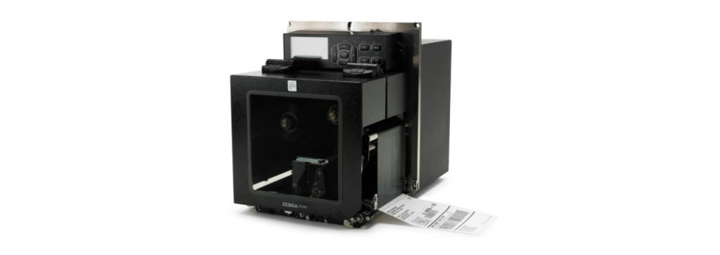 Zebra ZE500R-4, 12 Punkte/mm (300dpi), RTC, RFID, ZPLII, Multi-IF, Printserver (Ethernet), ZE50043-L0E0R10Z