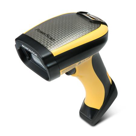 Datalogic PowerScan PBT9501, BT, 2D, DPM, Kit (RS232), RB, schwarz, gelb, PBT9501-DPMRBK20EU