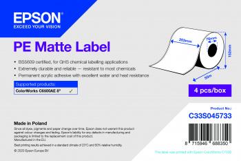 Epson Etikettenrolle, Kunststoff, C33S045733