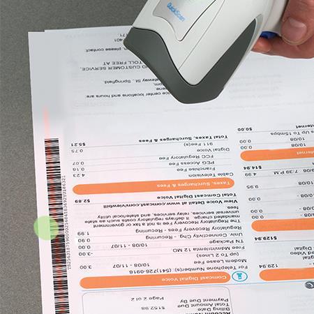 Datalogic QuickScan I QD2131, 1D, Multi-IF, Kit (KBW), weiß, QD2131-WHK3S