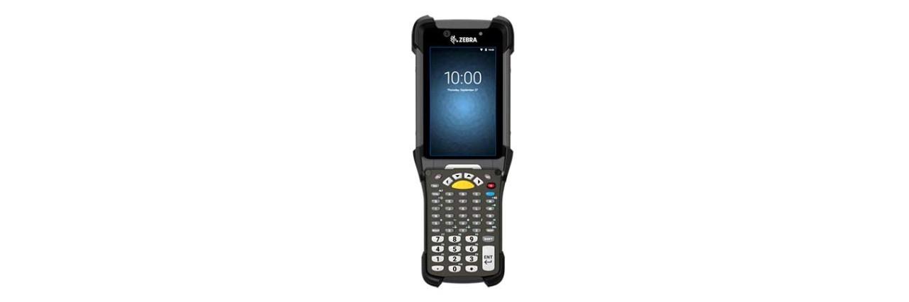 Zebra MC9300 Freezer, 2D, ER, SE4850, BT, WLAN, NFC, 5250 Emu., Gun, IST, Android, MC930P-GFEGG4RW