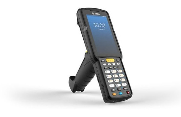 Zebra MC3300x, 2D, ER, SE4850, BT, WLAN, NFC, Alpha, Gun, Android, MC330L-GE4EG4RW