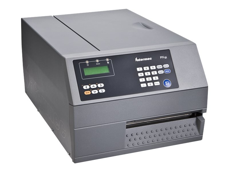 Honeywell PX6i, 8 Punkte/mm (203dpi), Cutter, Disp. (Farbe), RTC, WLAN, Multi-IF (Ethernet), PX6E030000003120
