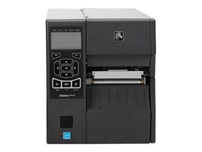 Zebra ZT410, 8 Punkte/mm (203dpi), RTC, Display, RFID, EPL, ZPL, ZPLII, USB, RS232, BT, Ethernet, ZT41042-T0E00C0Z