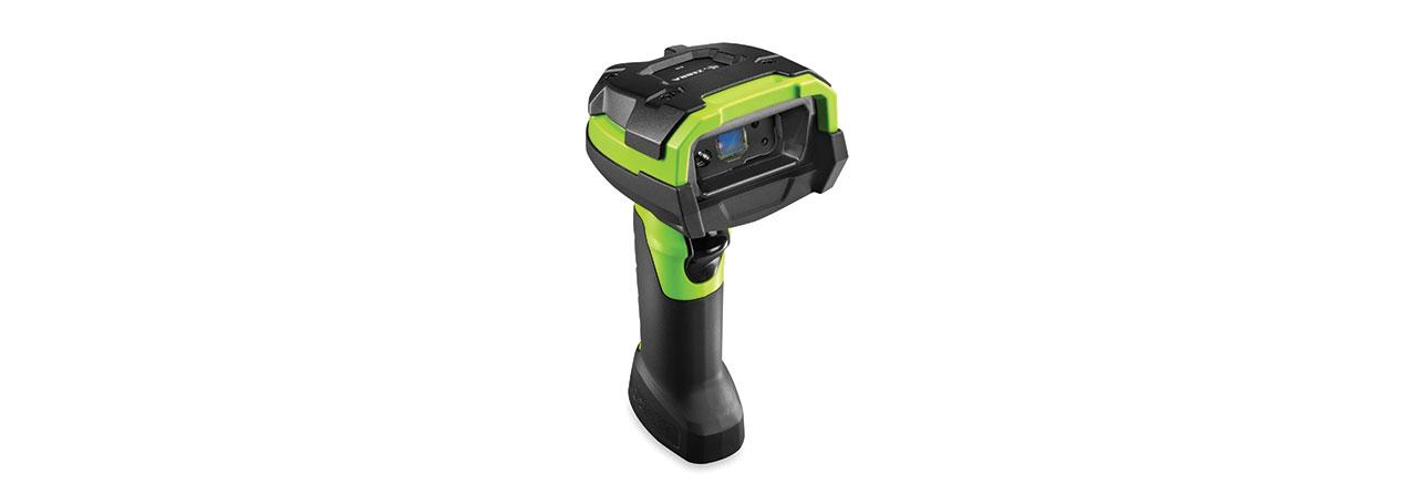 Zebra DS3678-ER, Gabelstapler Kit, BT, 2D, ER, Multi-IF, FIPS, Kit (USB), schwarz, grün, DS3678-ER3U4602FVW